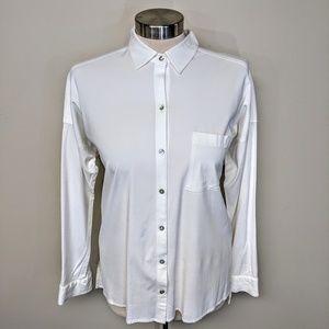 J.Jill Stretch Cotton Shirt